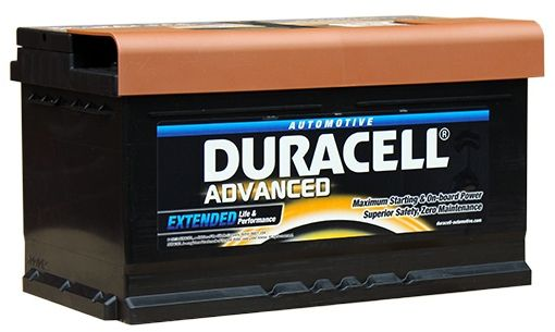 Duracell Car Battery Review >> Reviews Da80 Duracell Advanced Car Battery 12v 80ah 110