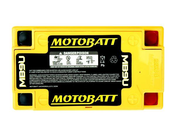 Mb9u Motobatt Quadflex Agm Bike Battery 12v 11ah
