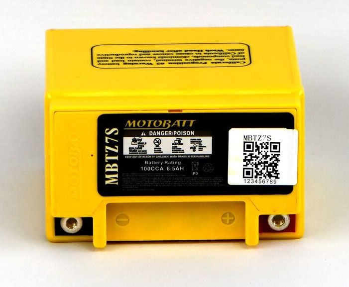 YAMAHA 250 WR250F S 03--/>09 Exide MF Battery AGM YTZ7-BS