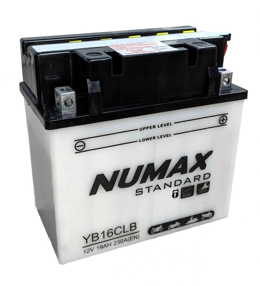 Bater/ía Moto YB16CL-B NB16CL-B 12V 19Ah NX