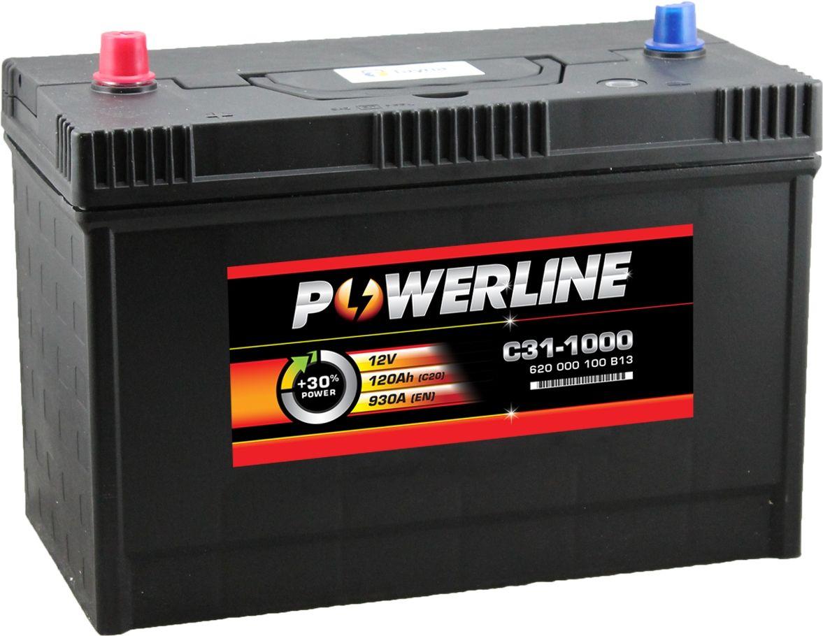 C31-1000 BulletBatt Auto Batteria 12V 120Ah