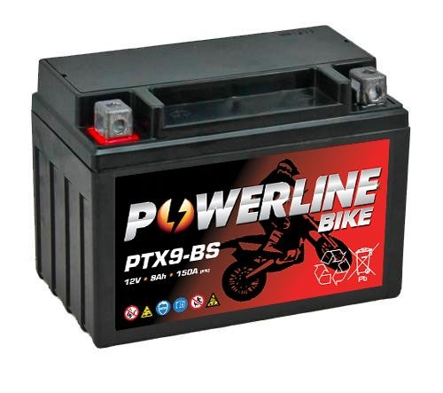 Ytx9 Bs Powerline Quad Bike Atv Battery