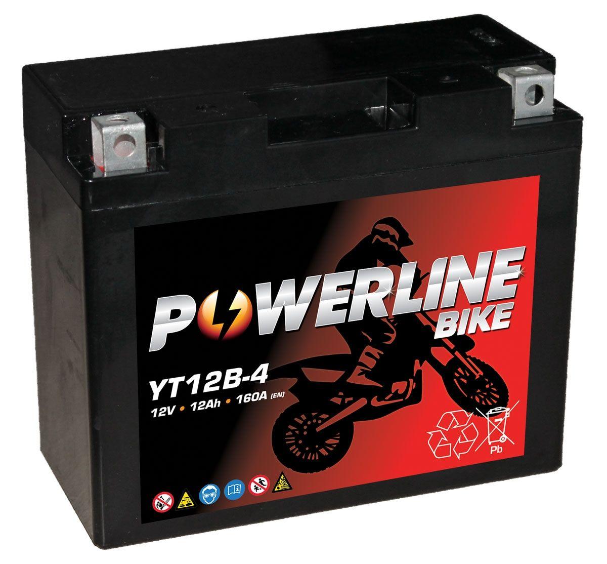 YT12B-4 Numax Motorbike Battery