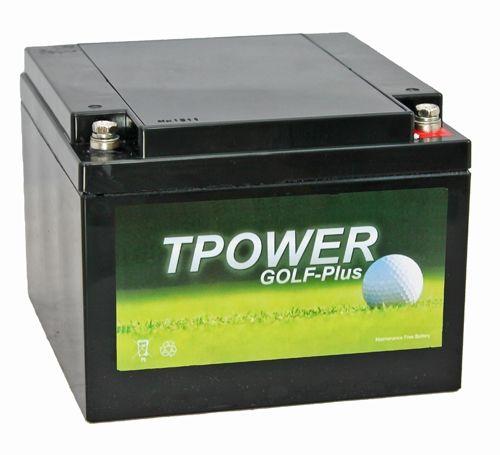 TP26-12 TPOWER Golf Trolley Battery