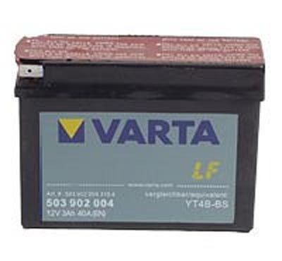 32cbefb18a4 YT4B-BS Varta Powersports AGM Motorcycle Battery 503 902 004 ...