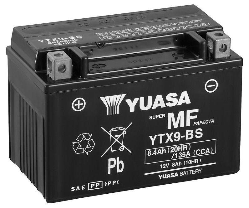 Yuasa Ytx9 Bs Mf Motorcycle Battery Motorcycle Batteries