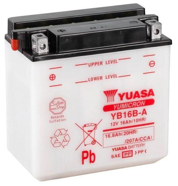 Yuasa Yb16b A Motorcycle Battery Motorcycle Batteries