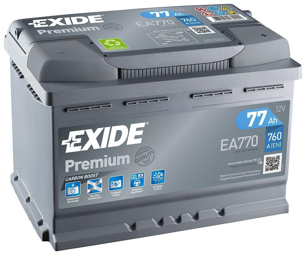 Exide Car Battery >> Ea770 Exide Premium Car Battery 067te