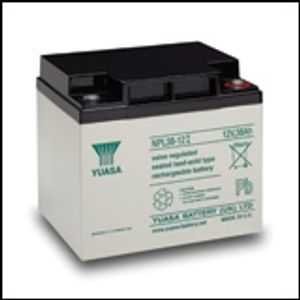 Yuasa NPL38-12 (FR) - NPLSeries - Valve Regulated Lead Acid Battery 12V 38Ah