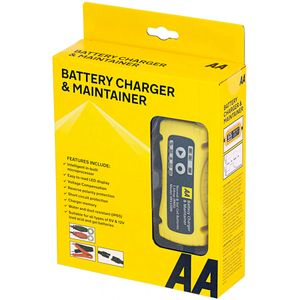 AA Battery Charger & Maintainer 6/12V 1.5A