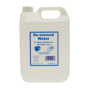 Deionised Water - 5 Litres