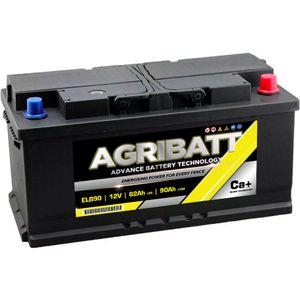 AgriBatt ELB90 Heavy Duty Electric Fence Battery 12V 85Ah (C100)