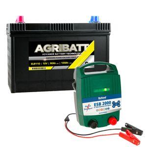 Rutland ESB2000 Energiser and Agribatt 100Ah Battery Kit