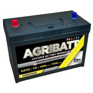 AgriBatt ELB120 Heavy Duty Electric Fence Battery 12V 120Ah