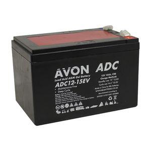 ADC12-15EV AVON Deep Cycle AGM GEL Battery 15Ah