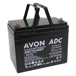 ADC12-42EV AVON Deep Cycle AGM GEL Battery 42Ah