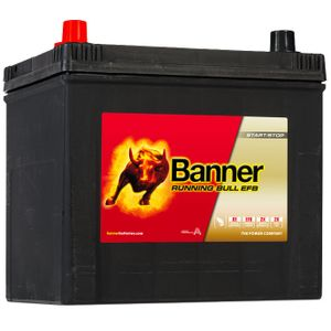 005R EFB Banner Running Bull Car Battery (56516)