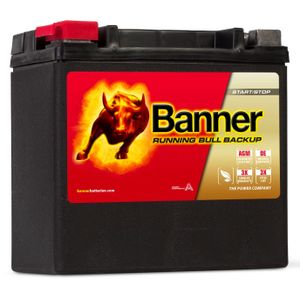 AUX 14 Banner Running Bull Backup Battery 51400
