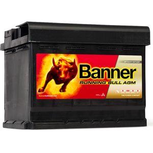 027 AGM Banner Running Bull Leakproof Car Battery (56001)