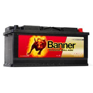 020 AGM Banner Running Bull Leakproof Car Battery (60501)