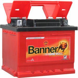 063 / 077 / 007 / 076 / 040 Banner Uni Bull Car Battery 50100