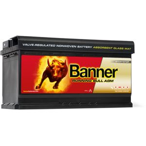019 AGM Banner Running Bull Leakproof Car Battery (59201 - Previously known as 59501)