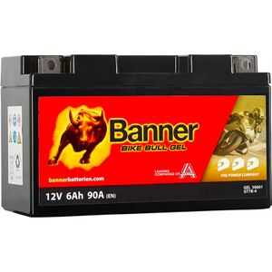 GT7B-4 Banner Bike Bull GEL Battery (50601)