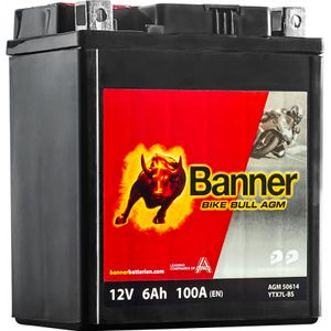 50614 Banner Bike Bull AGM Battery