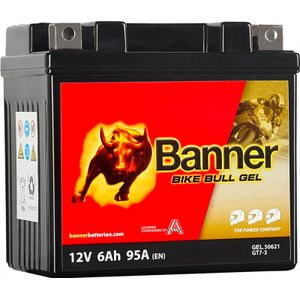 GT7-3 Banner Bike Bull GEL Battery (50621)