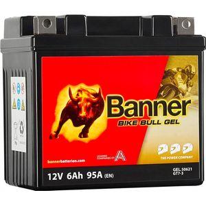 GT7-3 Banner Bike Bull GEL Batterie Moto (50621)