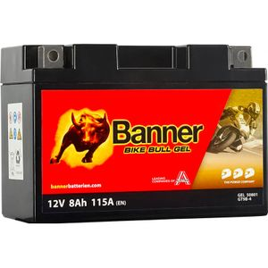 GT9B-4 Banner Bike Bull GEL Battery (50801)