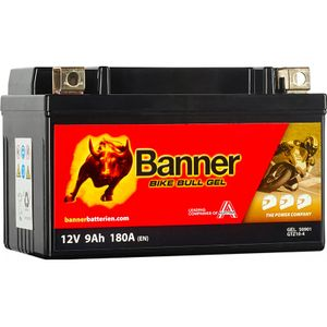GTZ10-4 Banner Bike Bull GEL Battery (50901)