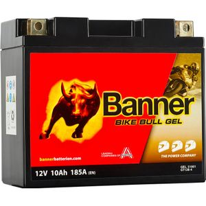 GT12B-4 Banner Bike Bull GEL Battery (51001)