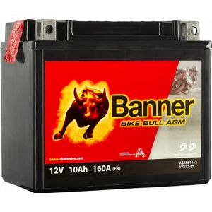 YTX12-BS Compatible Banner Bike Bull AGM Batterie Moto (51012)