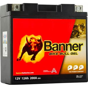 GTZ14B-4 Banner Bike Bull GEL Battery (51221)