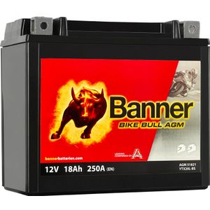 YTX20L-BS Compatible Banner Bike Bull AGM Batterie Moto (51821)