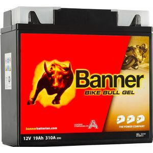 GT20H-3 Banner Bike Bull GEL Battery (52101)