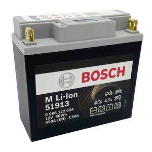 51913 Bosch Lithium Bike Battery 12V