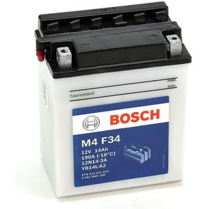 M4F34 Bosch Bike Battery 12V YB14L-A2
