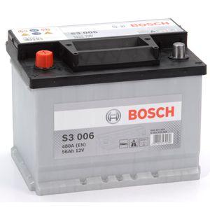 S3 006 Bosch Car Battery 12V 56Ah Type 078 S3006