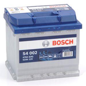 S4 002 Bosch Car Battery 12V 52Ah Type 079 S4002