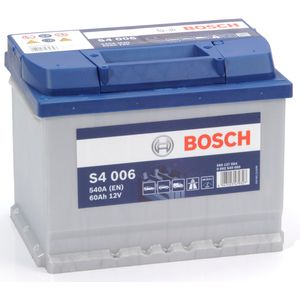 S4 006 Bosch Car Battery 12V 60Ah Type 078 S4006