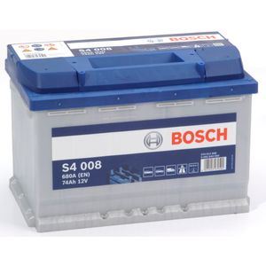 S4 008 Bosch Car Battery 12V 74Ah Type 096 S4008