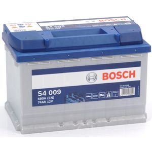 S4 009 Bosch Car Battery 12V 74Ah Type 086 S4009