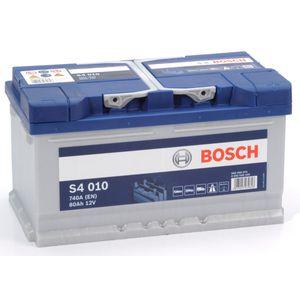 S4 010 Bosch Car Battery 12V 80Ah Type 110 S4010
