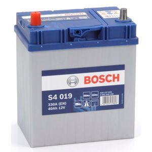 S4 019 Bosch Car Battery 12V 40Ah Type 055 S4019