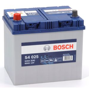 S4 025 Bosch Car Battery 12V 60Ah Type 005R S4025
