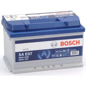 S4 E07 Bosch Car Battery 12V 65Ah Type 100 EFB S4E07