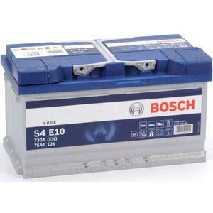 S4 E10 Bosch Car Battery 12V 75Ah Type 110 EFB S4E10