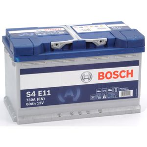 S4 E11 Bosch Car Battery 12V 80Ah Type 115 EFB S4E11